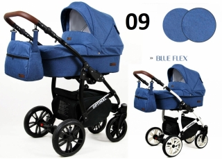 Trojkombinace kočárek Raf-Pol Babylux Optimal Blue flex