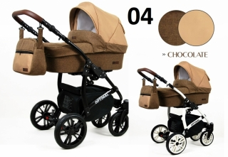 Trojkombinace kočárek Raf-Pol Babylux Optimal Chocolate